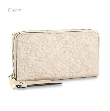 Louis Vuitton Long Wallets Monogram Plain Leather Long Wallets 7
