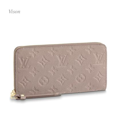 Louis Vuitton Long Wallets Monogram Plain Leather Long Wallets 9