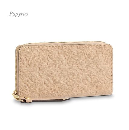Louis Vuitton Long Wallets Monogram Plain Leather Long Wallets 13