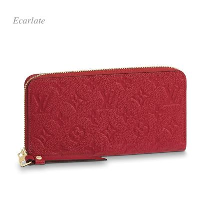 Louis Vuitton Long Wallets Monogram Plain Leather Long Wallets 18