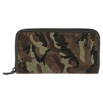 PRADA Camouflage Long Wallets