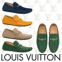 Louis Vuitton Moccasin Plain Leather U Tips Loafers & Slip-ons