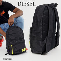 DIESEL Camouflage Casual Style Blended Fabrics Street Style A4