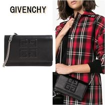 GIVENCHY 3WAY Chain Leather Elegant Style Shoulder Bags