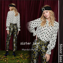 Sister Jane Star Casual Style Medium Puff Sleeves Shirts & Blouses
