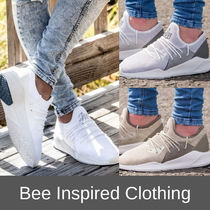 Bee Inspired Clothing Suede Plain Sneakers
