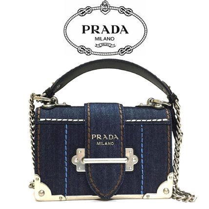 492cf8f929ce PRADA CAHIER 2019 SS 2WAY Shoulder Bags (1BH018_2BBV_F0AI7) by Repay ...