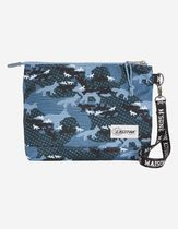 MAISON KITSUNE Camouflage Unisex Collaboration Bag in Bag