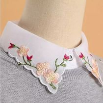 Flower Patterns Casual Style Detachable Collars
