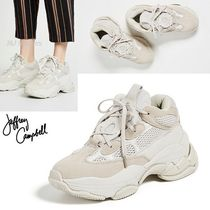Jeffrey Campbell Platform Round Toe Lace-up Casual Style Street Style Plain