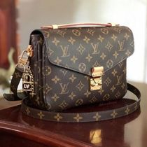 Louis Vuitton MONOGRAM Monogram Canvas Blended Fabrics 2WAY Elegant Style