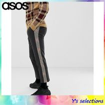 ASOS Stripes Other Check Patterns Street Style Cotton