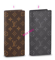 Louis Vuitton Monogram Leather Long Wallets