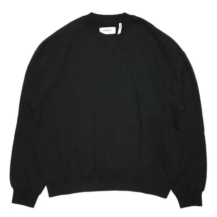 FEAR OF GOD Sweatshirts Crew Neck Street Style Long Sleeves Oversized Sweatshirts 8