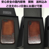 Berluti Plain Leather Smart Phone Cases