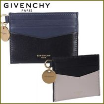 GIVENCHY Bi-color Plain Card Holders