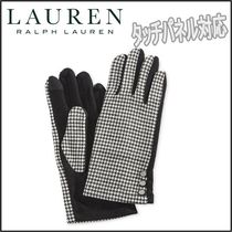 Ralph Lauren Zigzag Plain Smartphone Use Gloves