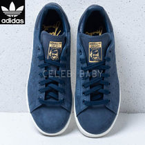adidas STAN SMITH Plain Leather Low-Top Sneakers