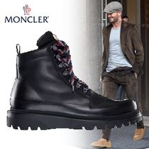 MONCLER Mountain Boots Blended Fabrics Street Style Plain