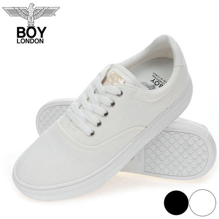 dfc133ad1f ... BOY LONDON Sneakers Unisex Street Style Collaboration Plain Sneakers ...