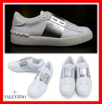 VALENTINO Casual Style Street Style Low-Top Sneakers