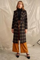 Cameo the Label Tartan Other Check Patterns Long Chester Coats