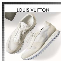 Louis Vuitton Street Style Plain Sneakers