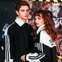 WV PROJECT Pullovers Unisex Street Style Long Sleeves Cotton Tops