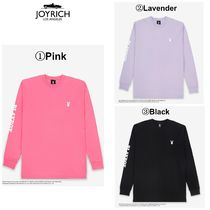 JOYRICH Crew Neck Unisex Long Sleeves Cotton Long Sleeve T-Shirts