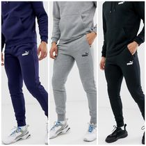PUMA Sweat Street Style Plain Joggers & Sweatpants