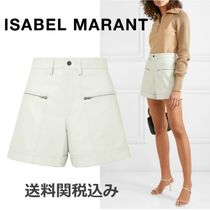 Isabel Marant Short Plain Leather Elegant Style