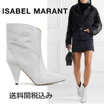 Isabel Marant Suede Blended Fabrics Other Animal Patterns Elegant Style