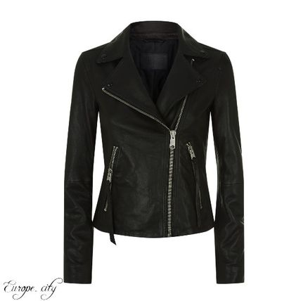 Leather Medium Biker Jackets