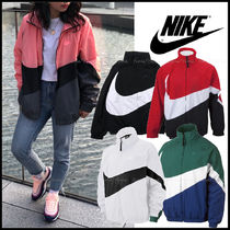 Nike Casual Style Unisex Street Style Bi-color Jackets