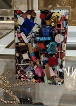 Jimmy Choo Blended Fabrics 2WAY Chain Party Style Clutches