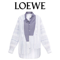 LOEWE Stripes Cotton Shirts & Blouses