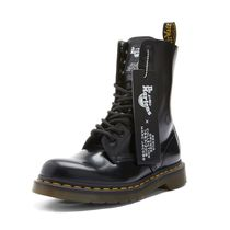 Dr Martens Round Toe Rubber Sole Lace-up Casual Style Unisex