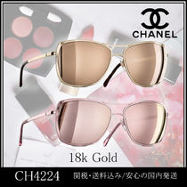 CHANEL Tear Drop Sunglasses