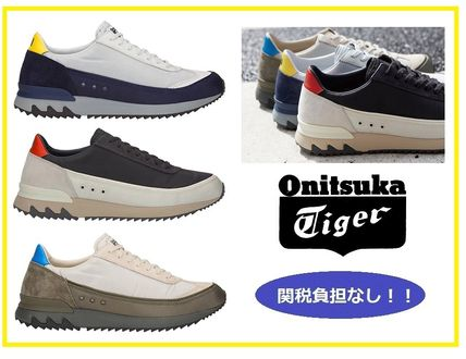 Unisex Street Style Plain Leather Sneakers. Onitsuka Tiger. Unisex Street  Style Plain Leather Sneakers e92d1dd9f65d