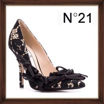 N21 numero ventuno Leather Pin Heels Pointed Toe Pumps & Mules