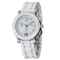 FENDI Fendi Ceramic Ladies Chronograph Quartz Watch