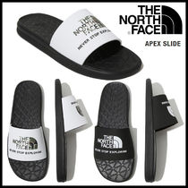 THE NORTH FACE Camouflage Unisex Shower Shoes Logo Shower Sandals