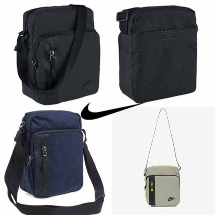 3df2dfd46e ... Nike Messenger   Shoulder Bags Unisex Street Style 2WAY Plain Messenger    Shoulder ...