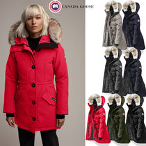 CANADA GOOSE ROSSCLAIR Long Down Jackets