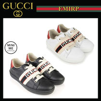 GUCCI Ace Unisex Street Style Kids Girl Sandals