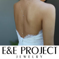 E and E PROJECT Party Style Silver 14K Gold Fine