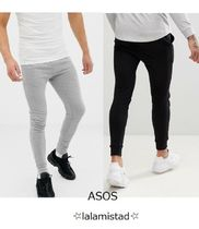 ASOS Plain Cotton Joggers & Sweatpants