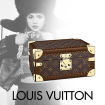 Louis Vuitton MONOGRAM Monogram Canvas Blended Fabrics Studded With Jewels