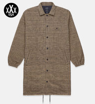 10DEEP Other Check Patterns Street Style Trench Coats