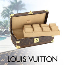 Louis Vuitton MONOGRAM Monogram Canvas Blended Fabrics Street Style With Jewels